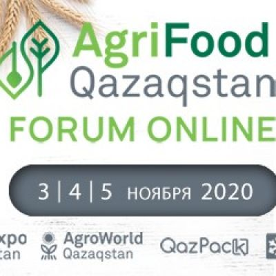 Within three days, from November 3rd to 5th, for the first time in an online format, the AgriFood Forum Qazaqstan